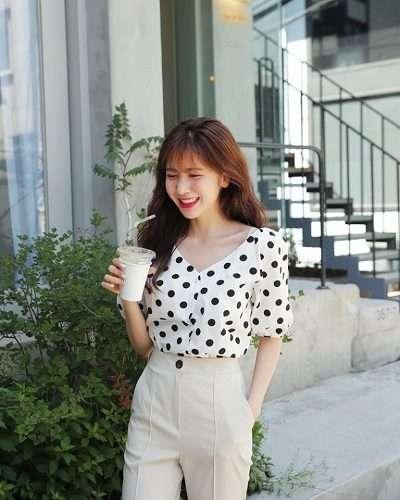 Phong cách ăn diện quần áo theo phong các Hàn Quốc