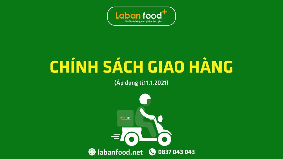 Chính sách giao hàng LabanFood+