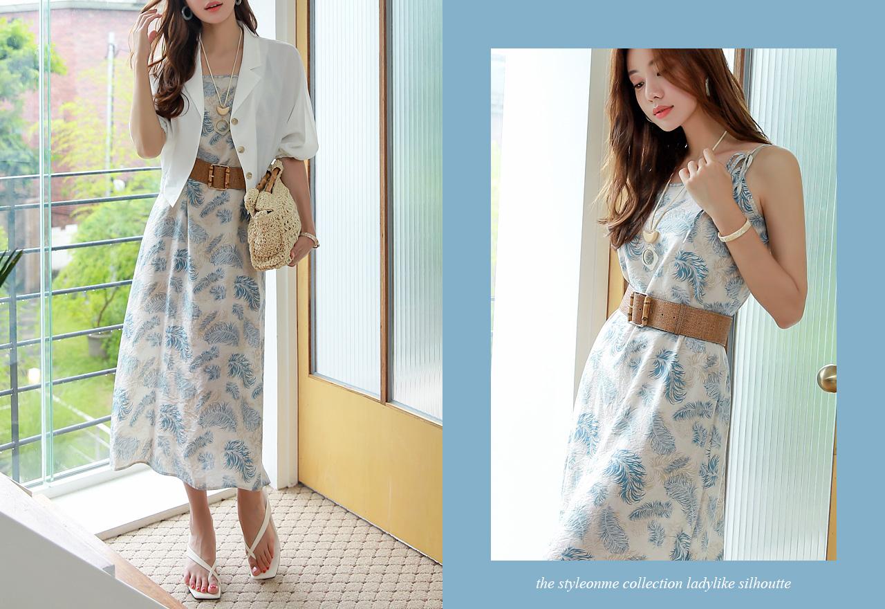 Đầm hai dây Hàn Quốc dạo phố gợi cảm
