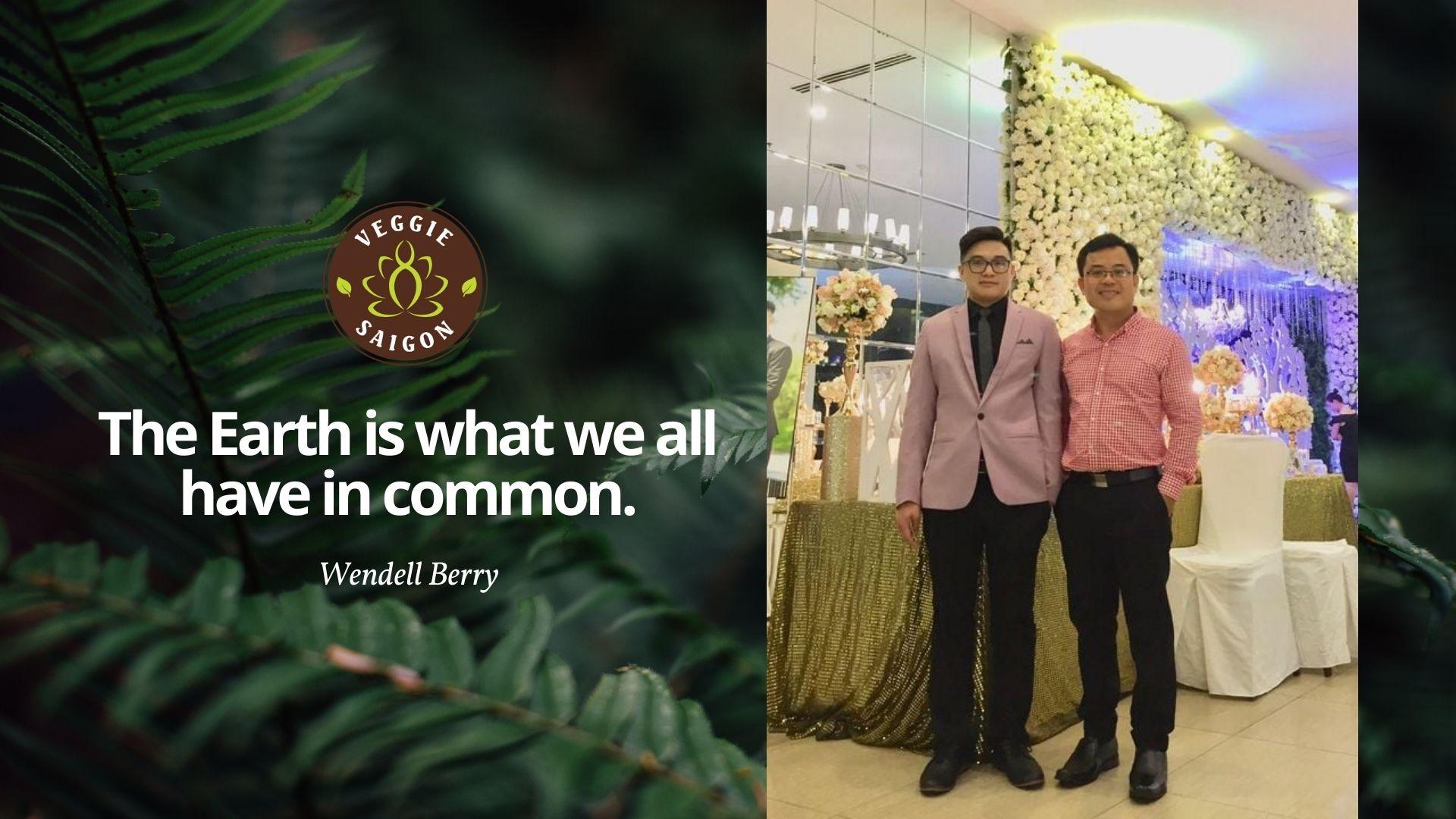 Chân dung lãnh đạo Veggie Saigon - Ông Nguyễn Thanh Phú & Ông Eric Trần