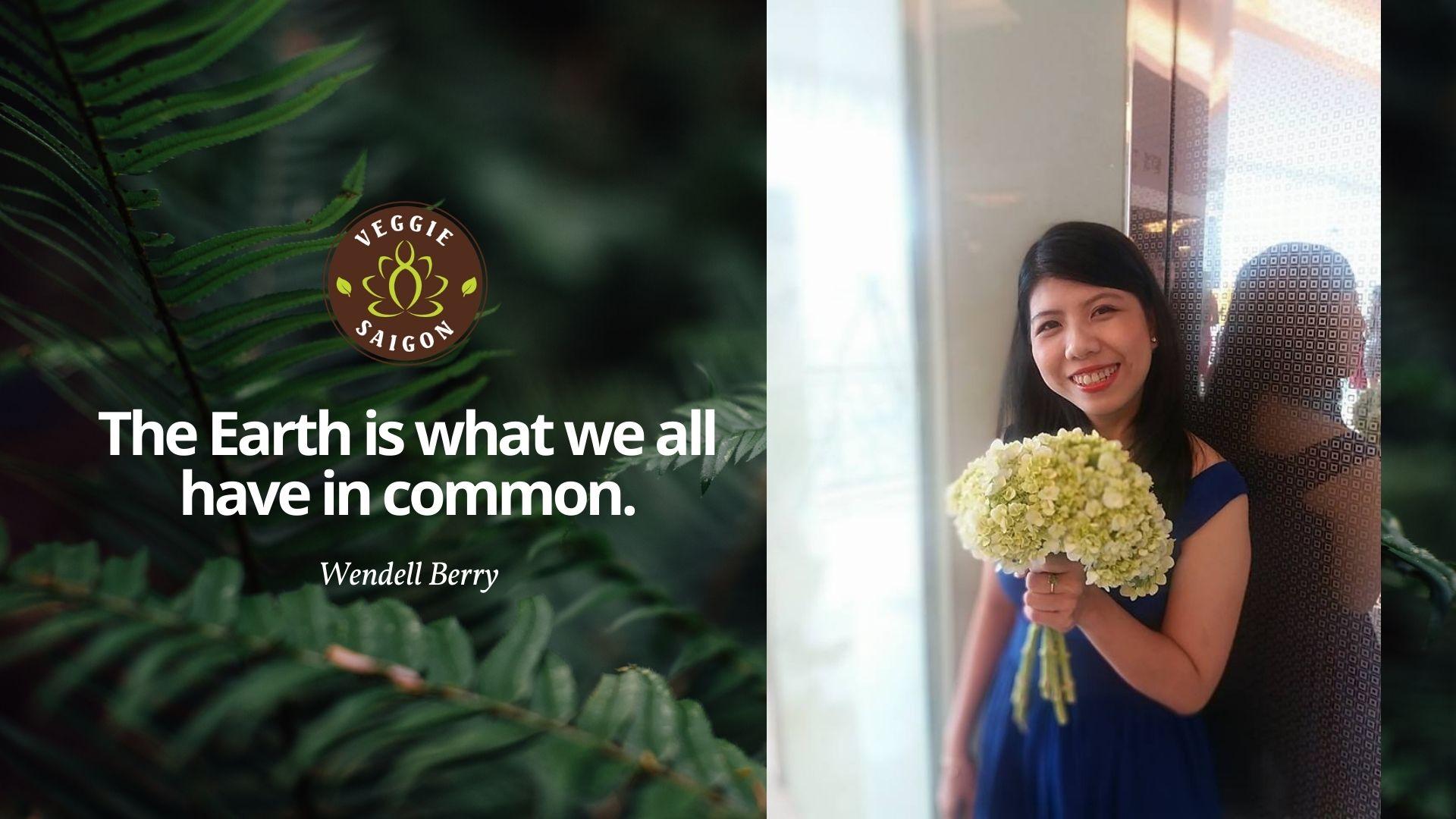 Chân dung lãnh đạo Veggie Saigon - Bà Huỳnh Thị Ngọc Duyên